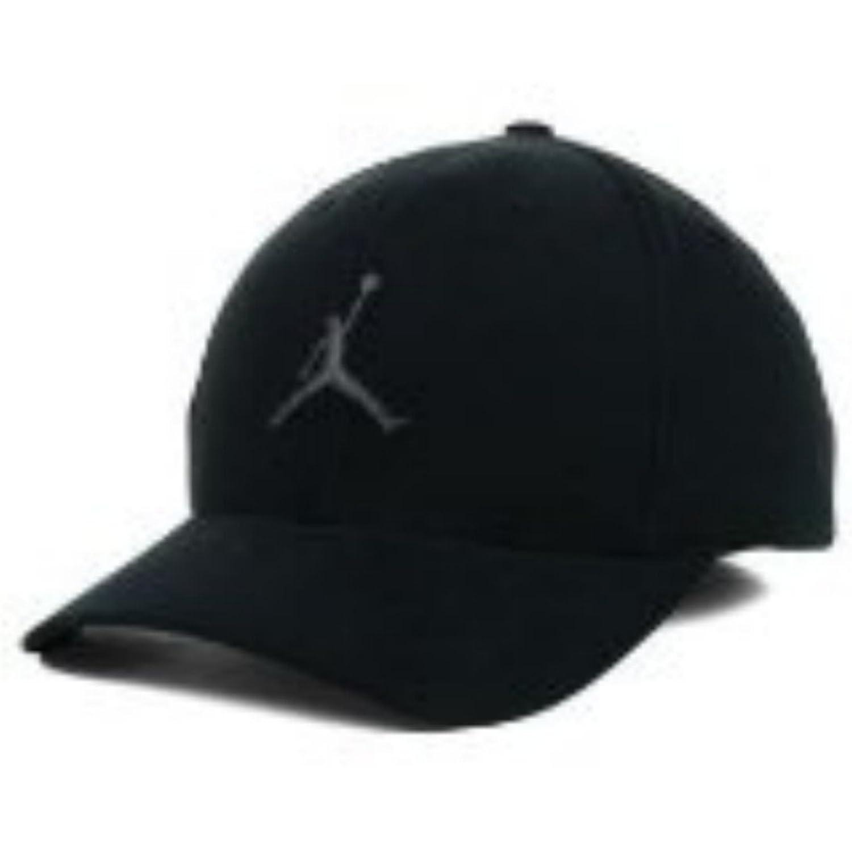 amazon nike michael air jordan jumpman stretch fit hat black fashion  sneakers ... 44d63294903
