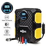Air Compressor,Mookis Auto Tire Inflator Portable Digital Dispaly Car Air Pump,12V DC 150PSI