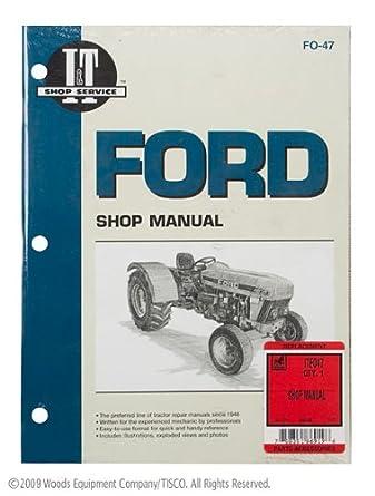 shop manual ford 3230 3430 3930 4630 4830 tractor amazon com rh amazon com 3930 Ford Tractor Front Axle 3930 Ford Tractor Front Axle