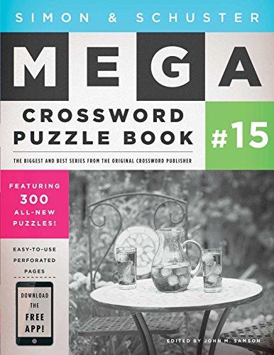 Pdf Travel Simon & Schuster Mega Crossword Puzzle Book #15 (S&S Mega Crossword Puzzles)