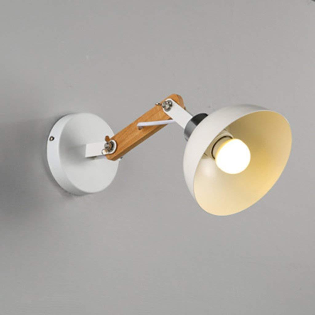Wandleuchte aus Eisen Kopf verstellbar Continental kreative Persönlichkeit und Wandleuchten Schlafzimmer Lampen Gang Nachttischlampe modernes Wohnzimmer Wand Lampen