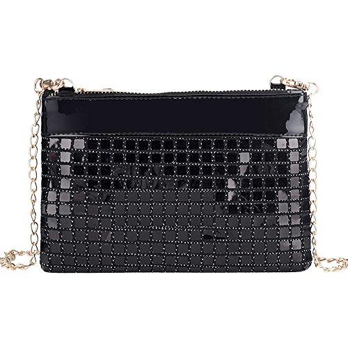 Bags Sale Bags OHQ Leather Fashion Womens Women Shoulder Plaid Messenger Crossbody Bag Women Laser Bags Bag aOwItxnraq