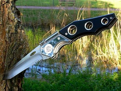 VG-10 Stahl Kraton-Griff Nylonscheide SOG Einhandmesser Tomcat 3.0