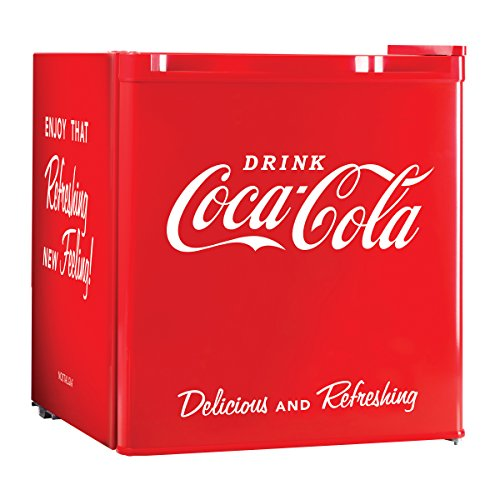 Nostalgia CRF170COKE Coca Cola 1 7 Cubic Refrigerator product image