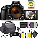 Cheap Nikon COOLPIX P1000 Digital Camera + 256GB Sandisk Extreme Memory Card Travel Kit International Model