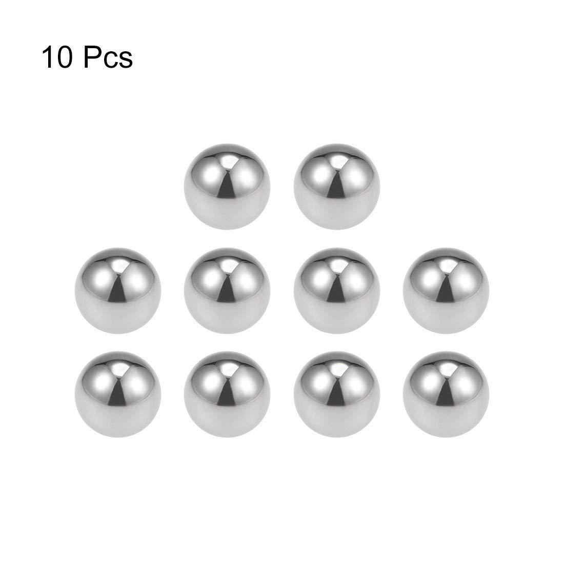 uxcell 1//4-inch Bearing Balls Tungsten Carbide G25 Precision Balls 10pcs