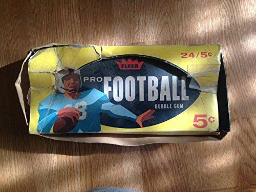 Fleer Bubble Gum (FLEER PRO FOOTBALL BUBBLE GUM TRADING CARDS EMPTY WAX BOX FAIR)
