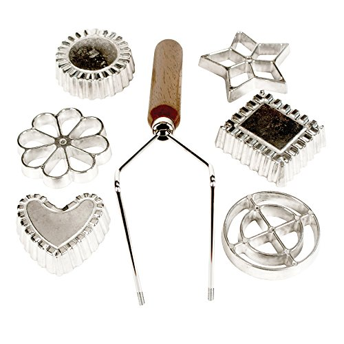 Fox Run 4514 Rosette and Timbale Cast-Aluminum Set 7-Piece