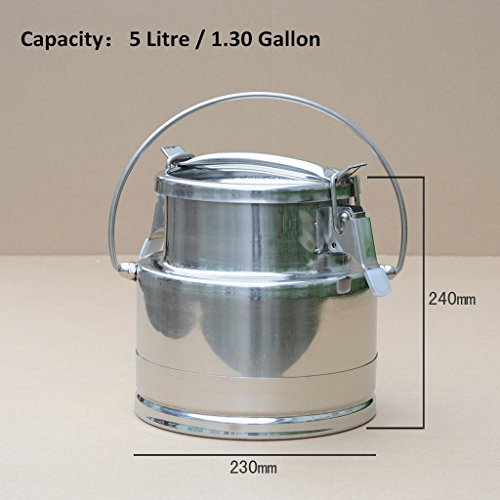 13 gal milk can - 6