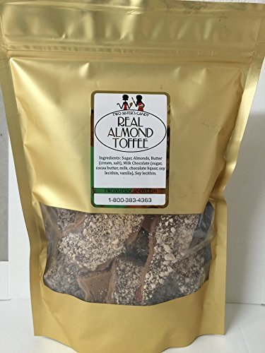 Milk Chocolate Butter Almond Toffee - Real Almond Toffee (8oz)