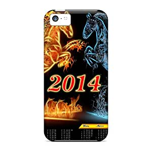 Brand New 6 plus Defender Case For Iphone (2014 New Year Horse Calendar)