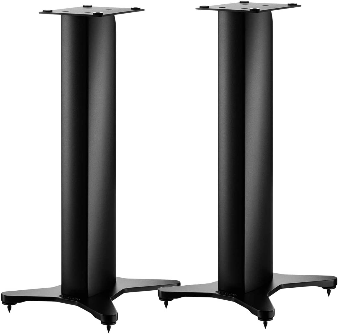 DYNAUDIO Stand 10 Speaker Stands for Bookshelf Speakers – Pair Satin Black