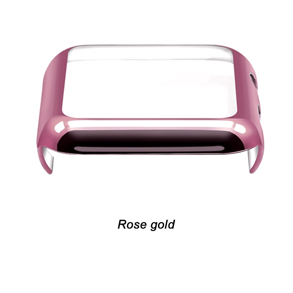GerTong Apple Watch Case 42mm with Built in Screen Protector for Apple Watch Series 2 3 42mm (Rose Gold) by GerTong (Image #1)