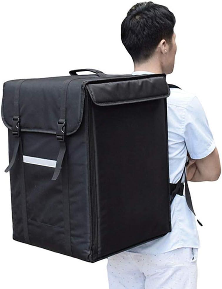 42/58L 大型テイクアウトバックパック/ボックス/ランチボックスファーストフードピザ配達インキュベーターアイスバッグ防水冷蔵断熱スーツケース (58L5)