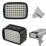 Fomito Godox AD-L Witsro Series Outdoor Flash Accessories LED Changeable Head with 60pcs LED and 9V 3.6W 4000mA for AD200 Pocket Speedlite Flash Light