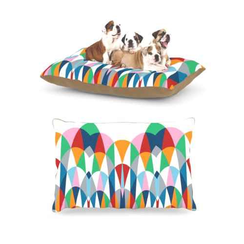 Kess InHouse Project M ''Modern Day Arches'' Fleece Dog Bed, 30 by 40-Inch by Kess InHouse