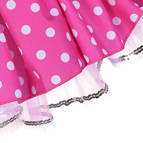 0f375a3a0 Infant Baby Toddlers Girls Christmas Polka Dots Leotard Birthday Princess  Bowknot Tutu Dress Xmas Cosplay Pageant Cute Mouse Dress up Halloween Fancy  ...