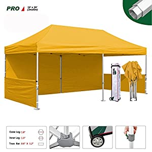 7. Eurmax Pro Pop up Canopy Fair Tent + Four Weight Bags