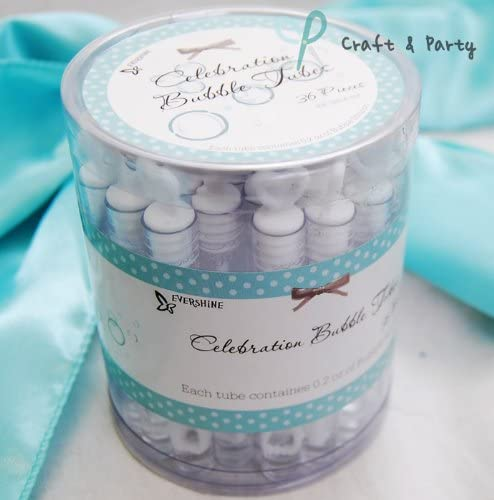 144 DOUBLE HEART WEDDING BUBBLES White Bridal Party Favor Free Shipping