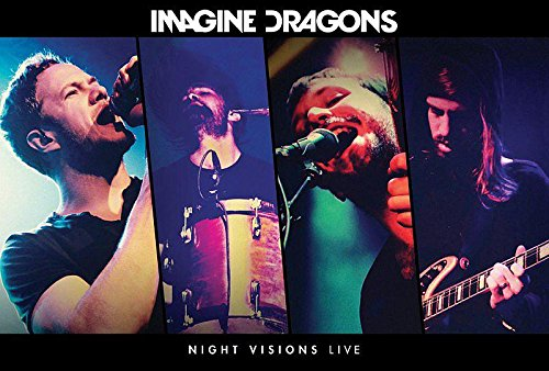 Imagine Dragons Poster Night Visions Live + 1 pair of transparent hangers