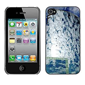 Hot Style Cell Phone PC Hard Case Cover // M00170379 Barcelona Wella Hotel Barceloneta // Apple iPhone 4 4S 4G