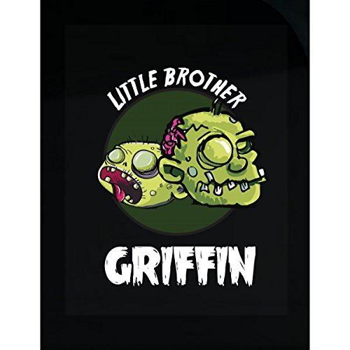 Prints Express Halloween Costume Griffin Little Brother Funny Boys Personalized Gift - Sticker ()