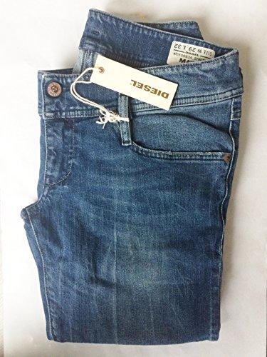 DIESEL jeans femme MATIC 0883A STRETCH SLIM TAPERED W32L34