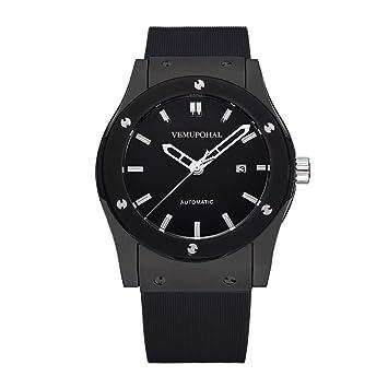 Amazon.com: Reloj de pulsera automático mecánico de lujo ...