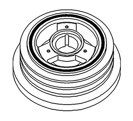 Amazon Com 680275c92 Crankshaft Dampener Pulley Made For Case Ih