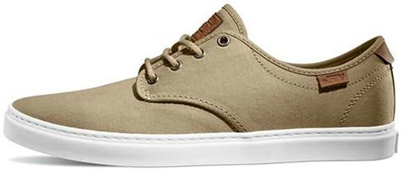 Amazon.com | VANS Ludlow T&L Khaki/White US Men's Size 11 | Skateboarding