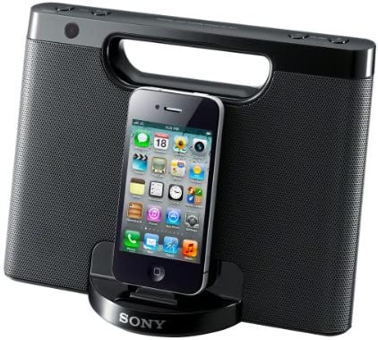 Sony RDP-M7IPBLK Smartphone Negro estación dock para móvil: Amazon ...