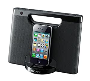 iphone speaker dock sony rdpm7ip 30 pin iphone ipod portable 12336