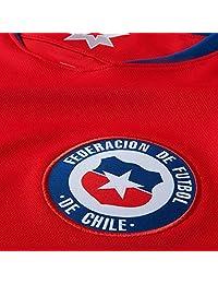 Camiseta de fútbol de local Nike 2018 Chile para hombre