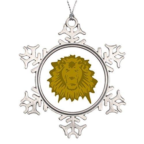 Christmas Snowflake Ornaments Tree Branch Decoration Lion Wedding Snowflake Ornament