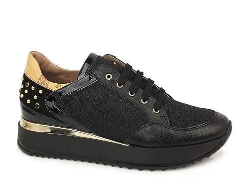 ALVIERO MARTINI 1a Classe 0155 0387 Nero Sneakers Scarpe Donna Comode   Amazon.it  Scarpe e borse 03e1cd4751e