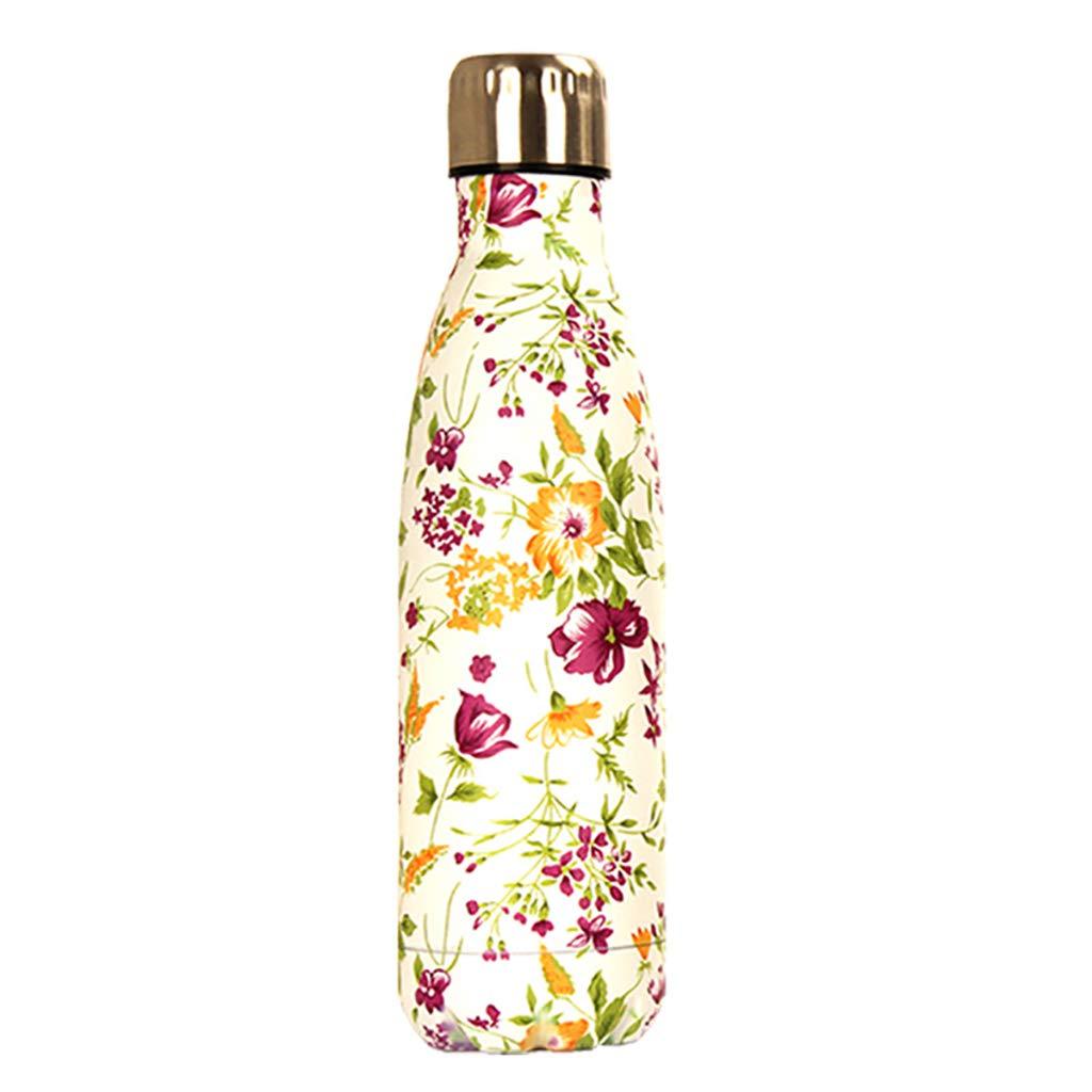 JY Wasserflasche Tasse Vakuum Edelstahl Cola Flasche Isolierung Cup Banana Flamingo Cup