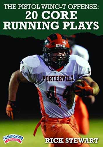 Championship Productions Rick Stewart-The Pistol Wing-T Offense: 20 Core Running Plays DVD