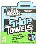 """Sellars 55202 ToolBox Shop Towels Box, 10"""" x 12"""" (6 Boxes of 200 Sheets)"""