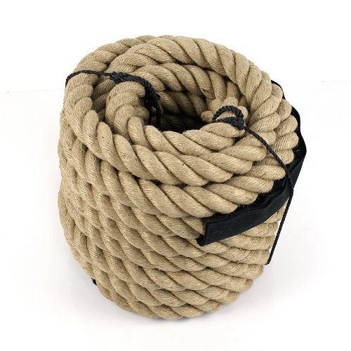 Zeny fitness climbing manila rope boat twisted heavy duty for Heavy rope for nautical use