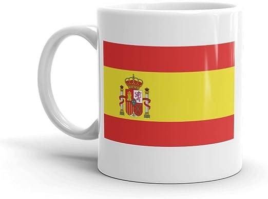 DV Mugs Ltd 5271 - Taza de té y café, diseño de la Bandera de España: Amazon.es: Hogar
