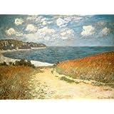 Claude Monet Poster Art Print Meadow Road to Pourville, 1882 80 x 60 cm