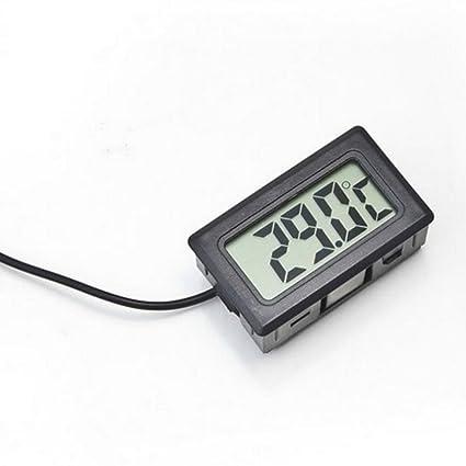 RVSMDA - Termómetro Digital electrónico Integrado con sonda de Temperatura y Temperatura del Agua