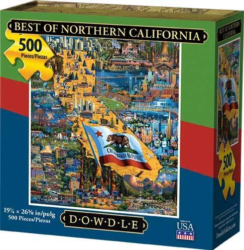 - Dowdle Jigsaw Puzzle - Best of Northern California - 500 Piece