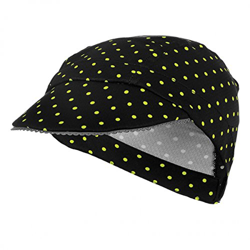 Shebeest 2016/17 Women's Femme Cycling Cap - 3653 (Polkamania Spry - One Size) by Shebeest