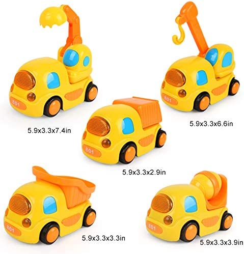 Lucasng Jouets Pour 3-5 An Old Boys RC Voiture Télécommande Camion pour Enfants 3-5 Ans