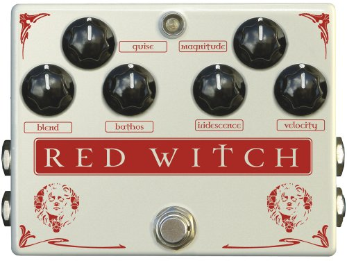 Witches Of Group (Red Witch Premium Range Pedals MC001 Medusa Tremolo Guitar Chorus Effect)