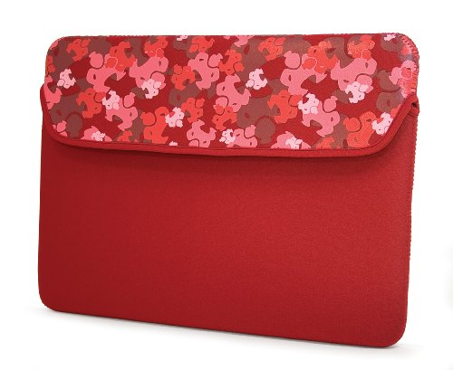 MobileEdge Sumo - 8.9-Inch Camo Kindle DX, Netbook Sleeve fits all iPad generations including iPad4 (Red) (E Fun Netbook)