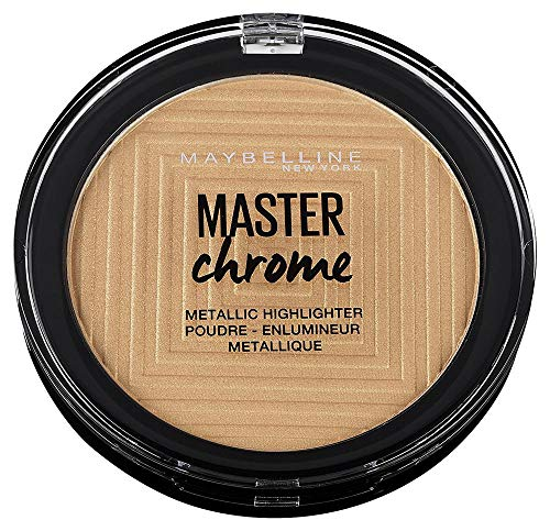 Maybelline Master Chrome Highlighting Powder 100 Molten Gold 8g