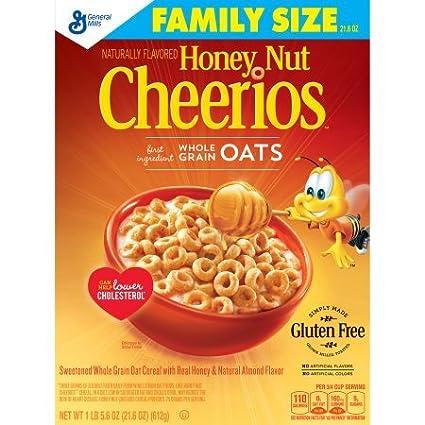 Cereales de cereales de miel y frutos secos (paquete de 1 ...
