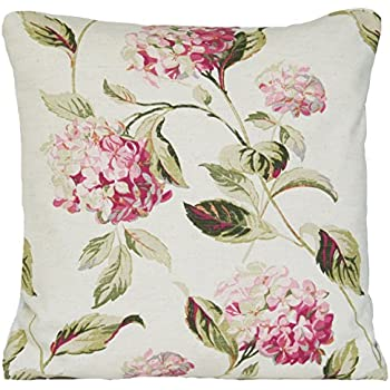 Amazon Com Laura Ashley Pink Floral Decorative Throw